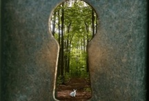 Portals Passages and Pathways / places and things that lead your mind to travel somewhere / by Kathryn Smith