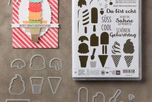 Stampin Up - Cool Treats / Eis, Eis, Baby