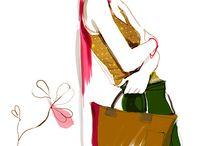 dibujos fashion
