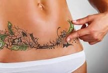 Tummy scar cover up tattoos