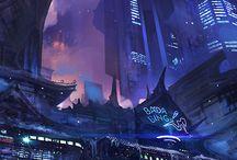 Science Fiction References / Concept e lavori con ambientazione fantascientifica che mi sono d'ispirazione