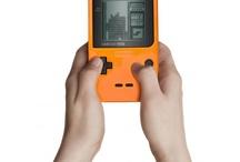 Vintage video games console