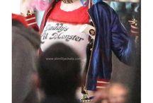 Suicide Squad Movie Jacket / Suicide Squad Harley Quinn Bomber Costume Jacket.