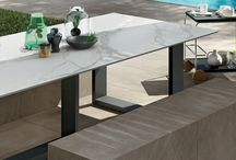 Outdoor Furnishing | Evo_2/e / Outdoor Furnishing: Showetray - Wash basin - Tables