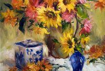 Słoneczniki w malarstwie