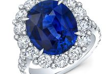 Blue Sapphire Engagement Rings / Be unique!  Here are some of the best examples of blue sapphire engagement rings!  We source our blue sapphire directly from the mines in Sri Lanka to provide the most beautiful blue sapphire in the San Jose, CA Bay Area!