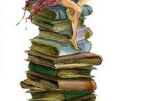 Book Art / Art depicting books or art using books as a medium
