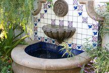 Spanish fountains