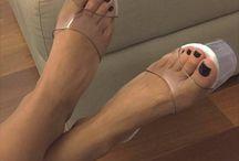 Sexy perfect feet n legs