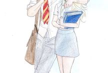 Teddy lupin and victore