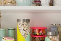 DIY things I need to try / Painted pantry jars