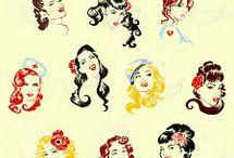 Vintage Pop Art, Cartoons & Comics