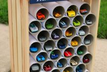 Brilliantly Cheap Ideas For Toy Storage....