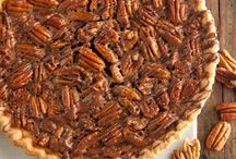 Pecan nut pie / Pecan nuts