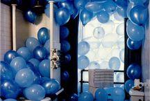 balloon crazy  / a balloon says 1 thing - 'party ' !