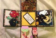 Create a critter 2 Explosion Card Box