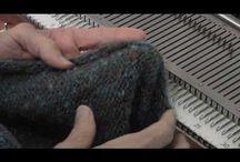 Knitting by machine