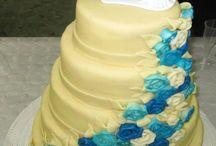 Weer een mooie bruidstaart van Westerbos & Mens / Lekker voor het bruidspaar