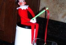 Elf on a shelf / by Shelly Frisch
