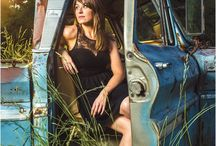 Erika Cole Country Music / Country music photos of Erika Cole, country music singer pictures, band photography, and country inspiration with cowboy boots and guitars.