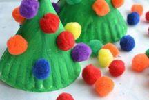 Holiday kid crafts