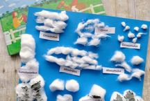Weather Activities for Kids / Creative and hands-on ideas for teaching and exploring weather including weather crafts, rain, clouds, hail, tornadoes, and more.