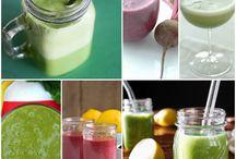 Smoothies, Juices, & Milkshakes / smoothie, juice, healthy, clean, sweet, nutritious, slim, cleansing, etc.