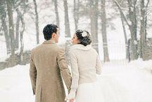 Winter Wanderland wedding inspiration