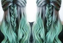 Girl Is Fierce / Hair in all its fabulous colors and styles
