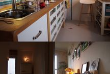 Vančura's Apartment by vastuspace / This is a remodel of a small apartment in Prague that we did in 2011