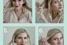 hair updo's & braids