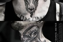 goat tattoo ideas