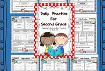 second grade / by Karre Thompson