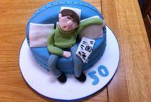 Dans maybe birthday cake