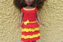 Poupées Vidal Rojas / Mes créations au crochet pour les poupées Vidal Rojas : Patrons et tenues disponibles dans ma boutique