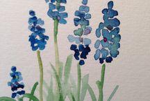 Malen mit Pflanzenfarben