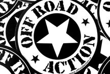 Off Road Action apparel & accessories / Off Road Action mens and women's shirts, sweatshirts and stickers.