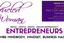 The SoulFueled Mind.Body.Biz Challenge Community Board for Service & Lifestyle Entrepreneurs / Group board for holistic, lifestyle, service, online leaders, coaches, and entrepreneurs who want to make a difference and create a thriving Life & Business while sharing powerful tools and information on Pinterest! :) Follow me, then message me on Pinterest if you want to join.  Post up to 3 pins a day about small business, sales, video, live streaming, speaking, direct marketing & conscious entrepreneurship.  For daily mindset & biz convo join our FB community here:https://goo.gl/ruKPHP