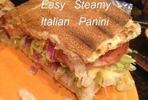 Recipes: Panini & Sandwiches