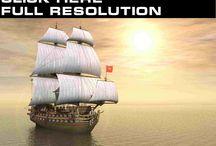 sails / sailing ships