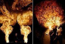 Espectáculo de fuego / Un proyecto de Tom Lacoste.