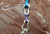 Climbing stuff / Jewelry for #rock #climbers, made from sterling silver
