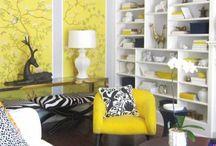 интерьер в желтом