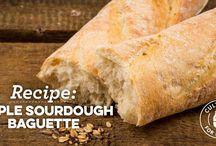 Sourdough Baguette, rolls etc.