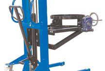 VARİL İSTİF MAKİNASI / Atlas profesyonel varil istif makinası ile 350 kg ağırlığındaki varilleri kolayca manuel olarak kaldırabilir ve taşıma yapabilirsiniz. Özel tasarım varil istif makinası.