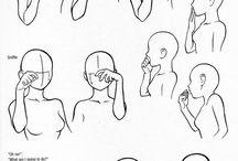 tecnques dessin personages
