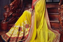 Full view / Complete View of Some of the Saree