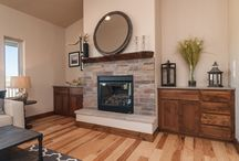 Fireplaces / Cozy up with these fireplace designs and decor inspiration.