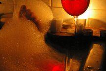 Enjoying Wine & Rest