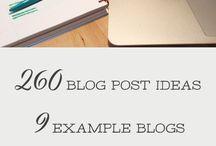 #blog #copy